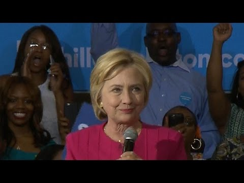 "Full Video: Clinton tells voters not to get ""complacent"""