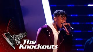 Gabriel Dryss' 'I Just Got Paid' | The Knockouts | The Voice UK 2019
