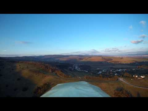 Sky Surfer X8, flight before Sunset, Hrabovka, Slovakia