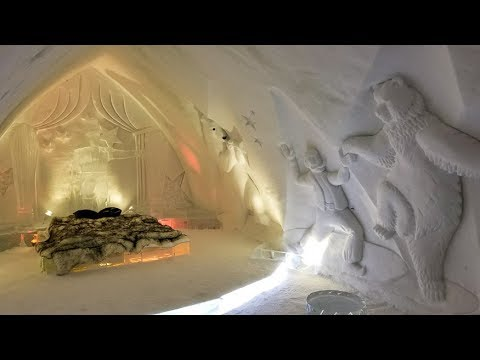Hotel de Glace: Tour Quebec's Ice Hotel for 2018