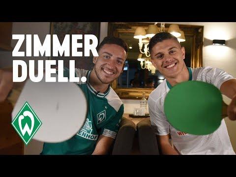 ZIMMERDUELL: Milot Rashica & Kevin Möhwald | SV Werder Bremen