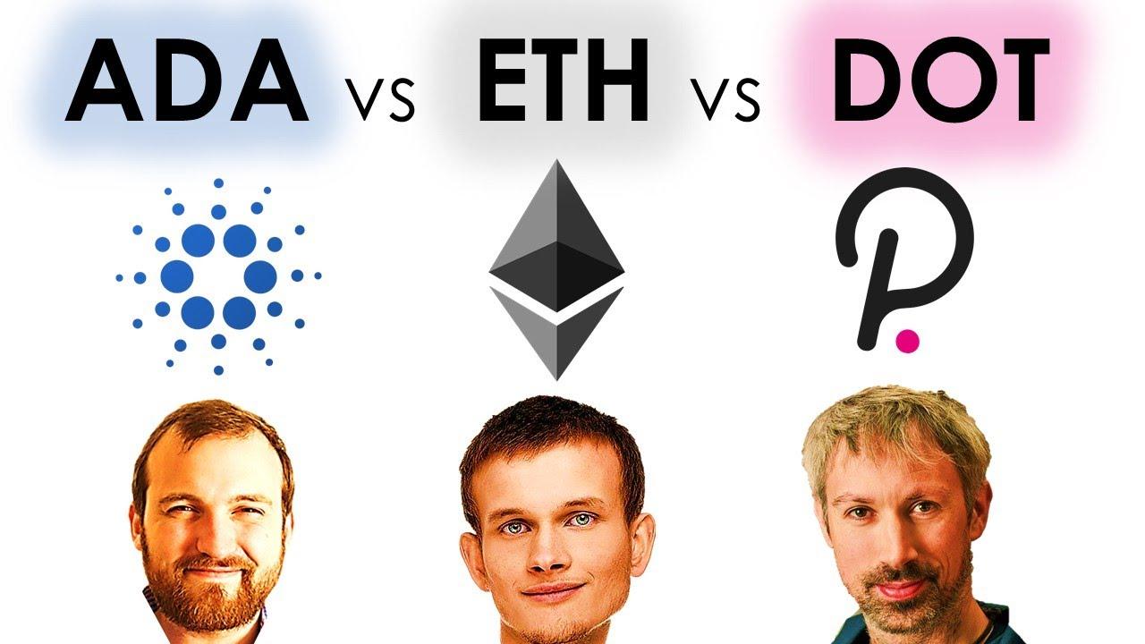 Cardano vs Ethereum vs Polkadot - Charles Hoskinson Explains