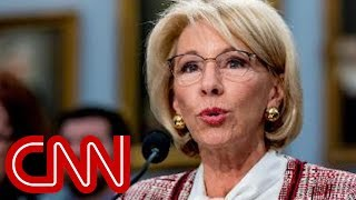 Betsy DeVos grilled over proposed Special Olympics cuts
