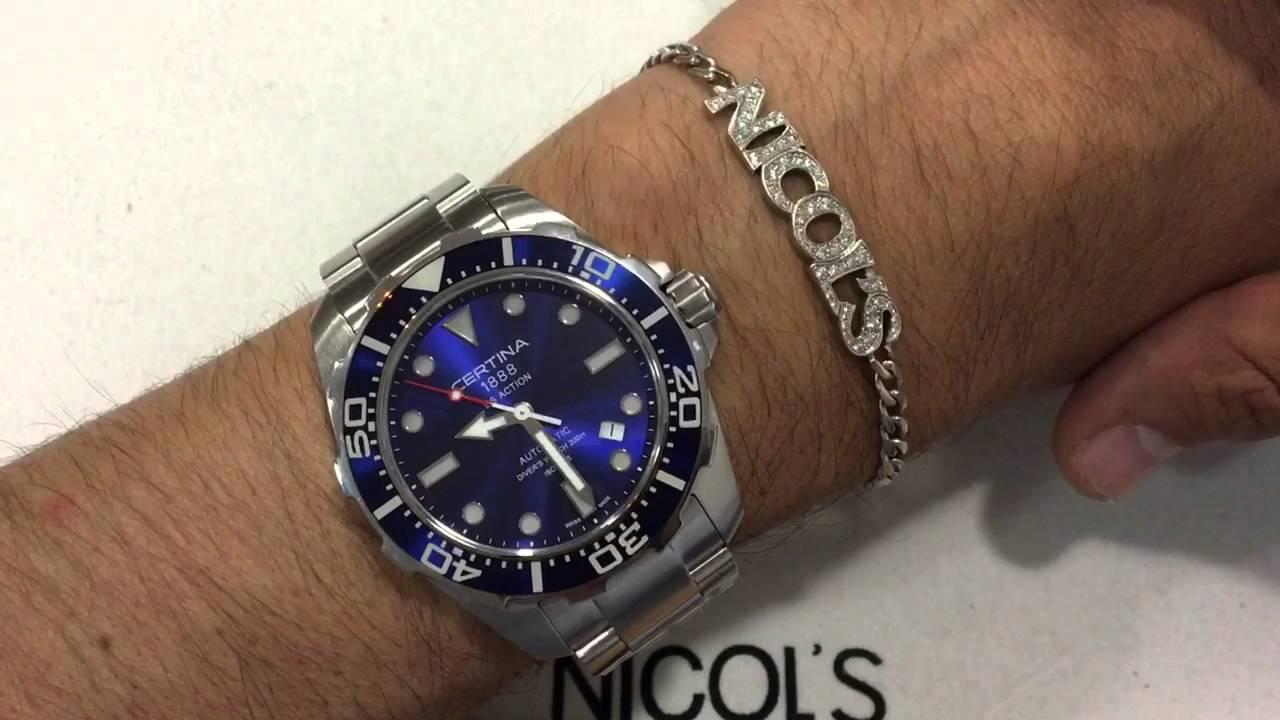 a105063dc46d Certina DS Action Diver Automatico - El reloj más vendido en España ...