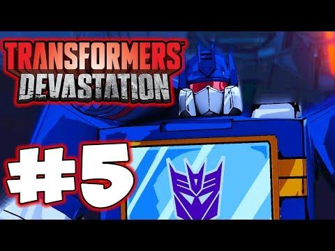Transformers Devastation - Part 5 - Soundwave! Gameplay Walkthrough