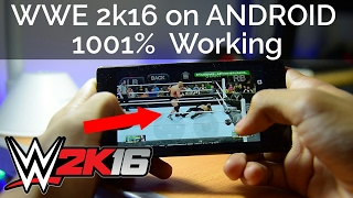 PLAY WWE 2K16 ON ANDROID WITHOUT ANY PROBLEM!! XBOX EMULATOR ALL PROBLEM SOLVED | 200% WORKING