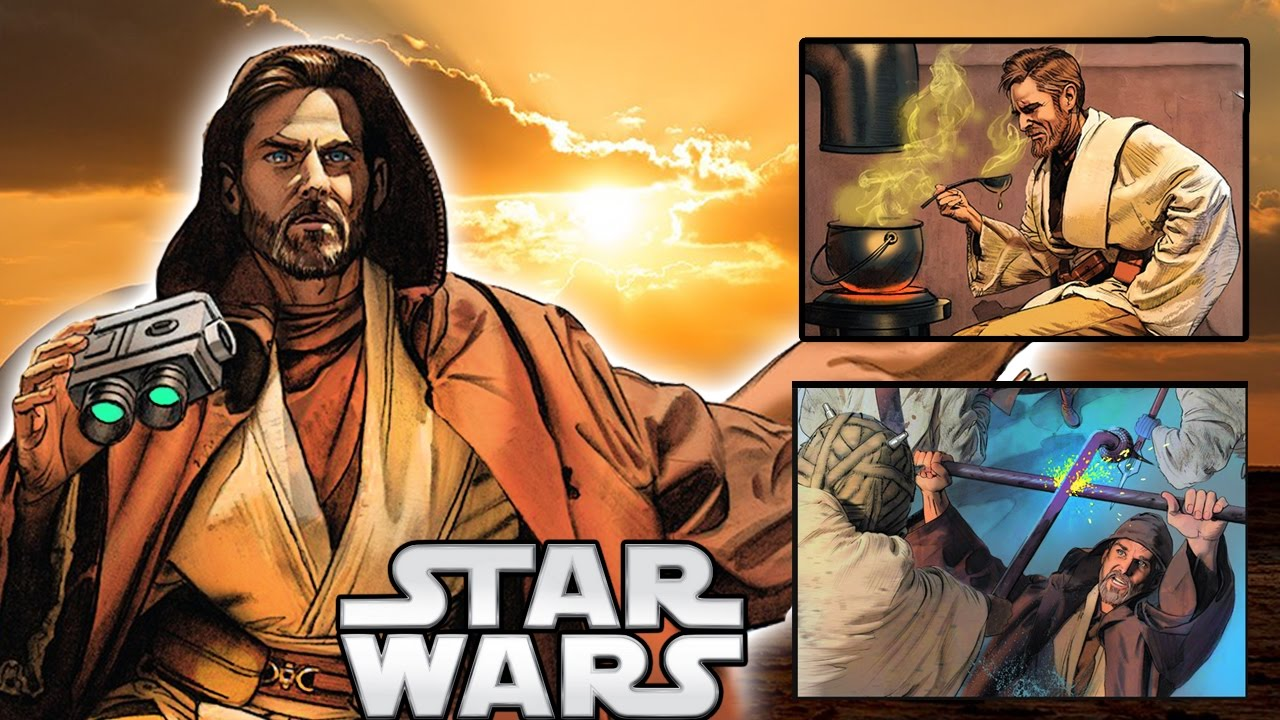 What Was Obi Wan Doing On Tatooine After Revenge Of The Sith Canon Star Wars Explained Youtube