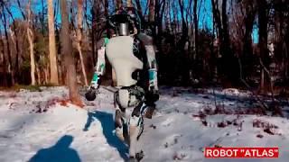 Atlas - robot  Humanoid, two-handed mobile manipulation