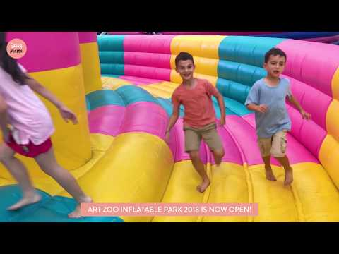 Art Zoo Inflatable Park 2018 Singapore: Fun for Kids of All Ages