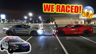 WE RACED... Then this happened