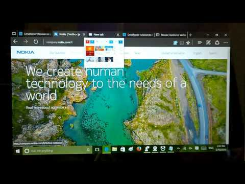 Windows 10 Build 14291: Extensions, Changes Demo & First Impressions