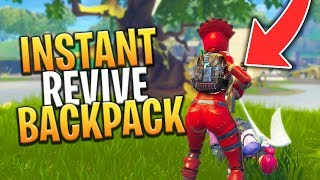 *NEW* LEAKED INSTANT REVIVE BACKPACK AND MORE ITEMS! - Fortnite: Battle Royale