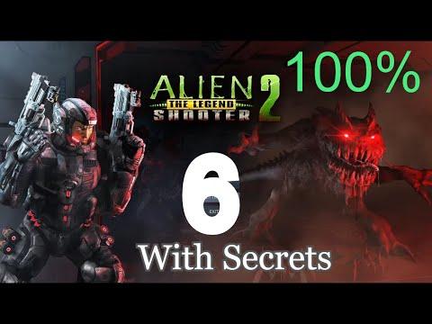 Alien Shooter 2 The Legend - Mission 6 With Secrets