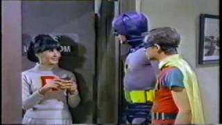 """Donna Loren as """"Susie"""" on """"Batman"""" (The Cheerleader) 3/66"""