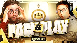 ICON PLAYER PICK SBC!!! Fifa 21 Pack And Play