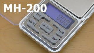 Ювелирные весы MH-200 обзор, калибровка и тест