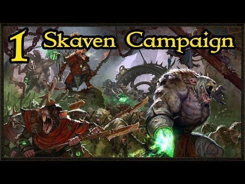Total War Warhammer 2 – Exclusive Skaven Campaign First Look #1