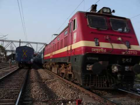 top INDIAN electric locomotive-shakti - YouTube