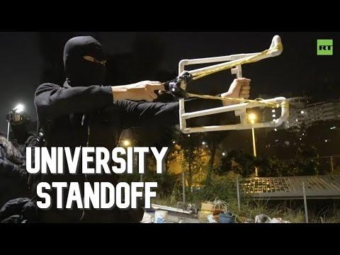 Hong Kong: University Standoff