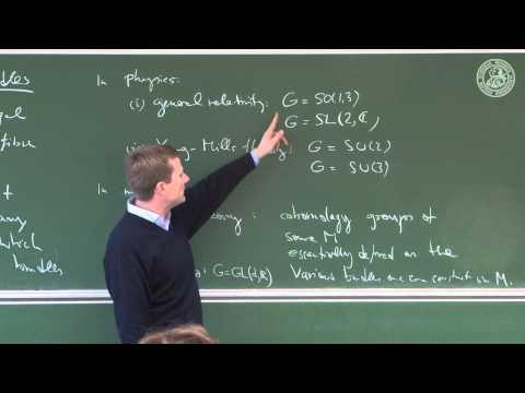 Principal fibre bundles - Lec 19 - Frederic Schuller