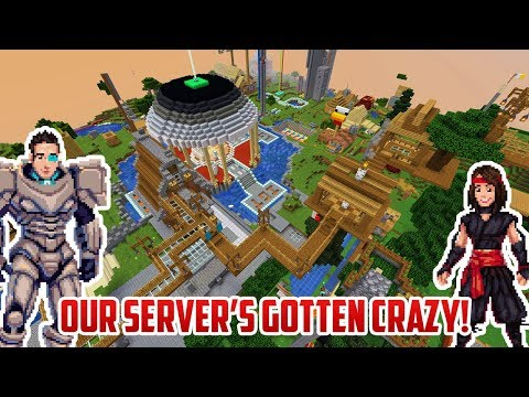 Our Minecraft Server Is JAM-PACKED WITH AWESOME STUFF