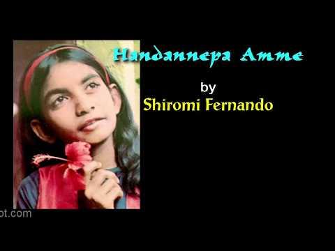 ANDANNEPA AMME by Shiromi Fernando