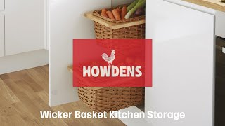 Wicker Baskets From Howdens Joinery