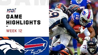Broncos vs. Bills Week 12 Highlights