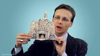 Klasyczne kartki świąteczne inspirowane Łodzią | rozmowa z Juliuszem Zielińskim