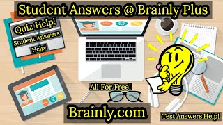 Brainly Plus For FREE (Student Answer Quiz)