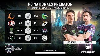 PG NATIONALS PREDATOR - NONA GIORNATA - MOR vs RCN
