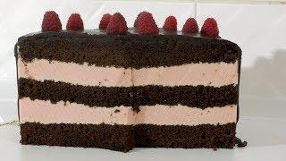 МАЛИНОВЫЙ ТОРТ Муссовый торт Мусс для торта
