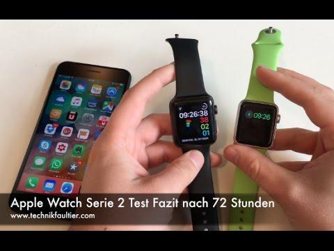 Apple Watch Serie 2 Test Fazit Nach 72 Stunden Youtube
