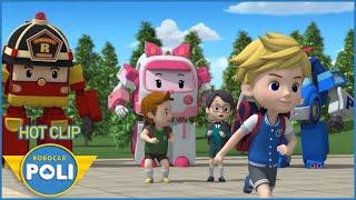 POLI và các bạn - Siêu Xe Cứu Hộ Thành Phố HOT CLIP #8 - Phim hoạt hình Robot Biến Hình