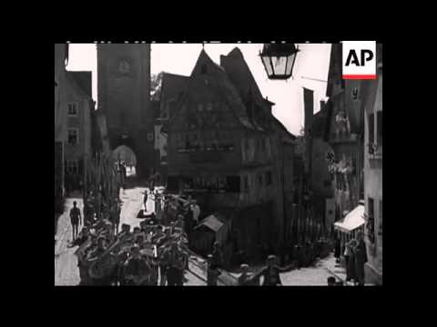 HITLER YOUTH MARCH TO NUREMBERG - SOUND