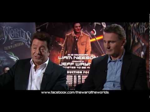 Jeff Wayne & Liam Neeson - Exclusive Interview