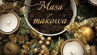 MASA  MAKOWA, Jak zrobić masę makową do ciast? | Magdalenkowe Frykasy