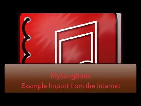 MySongbook Chordie Import