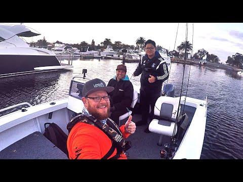 3 YouTubers 1 Boat | Fishing | Melbourne | Victoria | Australia
