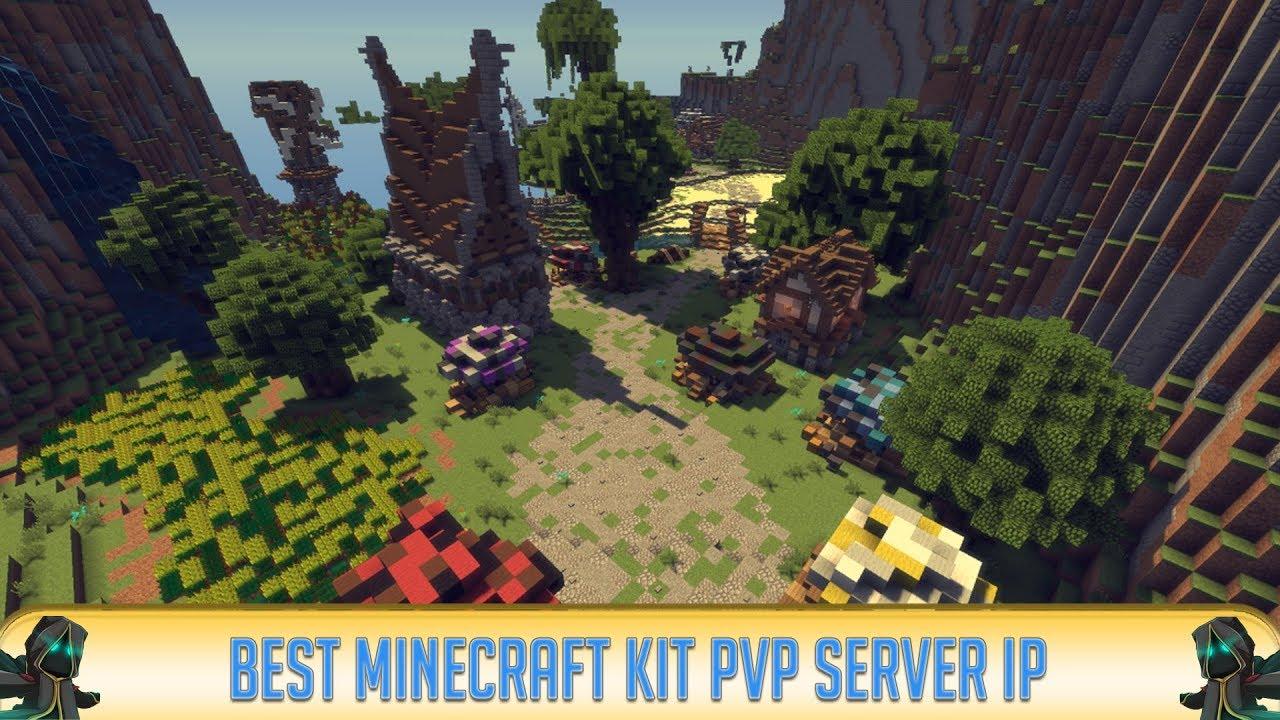 ✓ Minecraft 1 17: Best Multiplayer Kit PvP Server (2021) YouTube