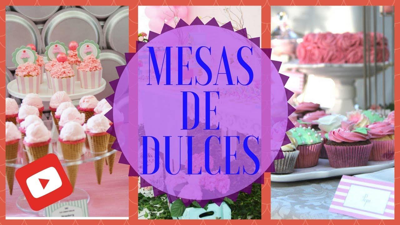 Mesas de dulces mesas de dulces para baby shower youtube for Mesa dulce para baby shower