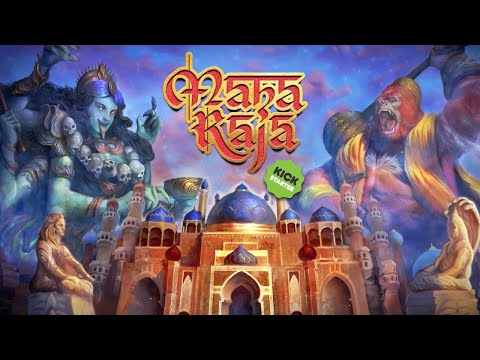 MAHARAJA | How To Play Tutorial (Print And Play Beta Components)