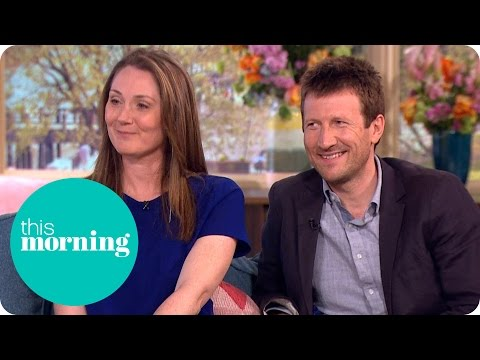 Home Fires' Mark Bazeley And Ruth Gemmell  This Morning