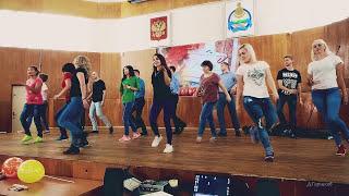 ФлешМоб танец + погром сцены юными учителями в честь Дня Учителя 2017