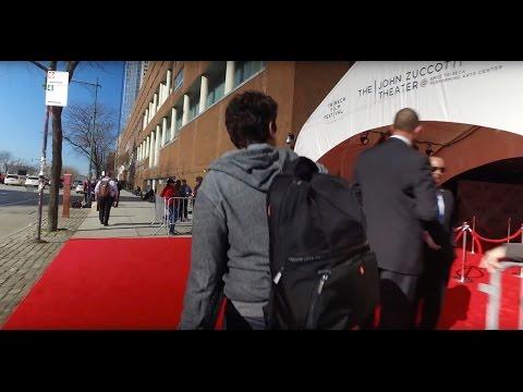 Shutterstock CEO Jon Oringer Undercover on the 2016 Tribeca Film Festival Red Carpet