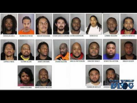 20 Strawberry Manor Blood leaders arrested in Sacramento sweep (California)