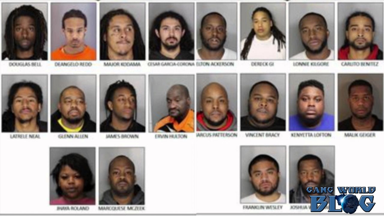 20 Strawberry Manor Blood leaders arrested in Sacramento
