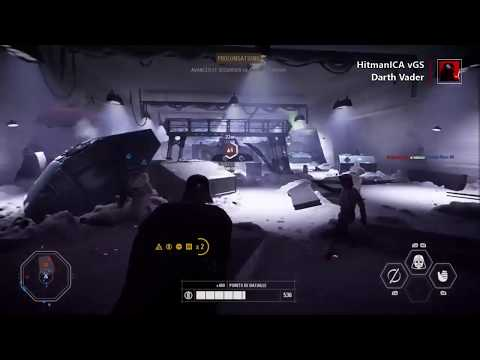 STAR WARS ™ Battlefront ™ II : Darth Vader Gameplay on Hoth