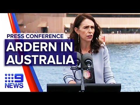 New Zealand PM Jacinda Ardern Visits Sydney   Nine News Australia