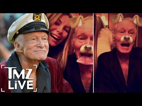HUGH HEFNER Death Rumors  Is He Dead or Alive?   TMZ Live